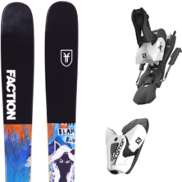FACTION PRODIGY 1.0 X 19 + SALOMON Z12 B100 WHITE/BLACK 21