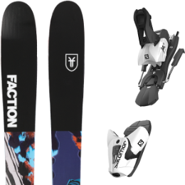 FACTION PRODIGY 2.0 X 19 + SALOMON Z12 B100 WHITE/BLACK 21