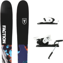 FACTION PRODIGY 2.0 X 19 + SALOMON Z12 B90 WHITE/BLACK 21