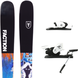 FACTION PRODIGY 1.0 X 19 + SALOMON Z12 B90 WHITE/BLACK 21