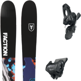 FACTION PRODIGY 2.0 X 19 + TYROLIA ATTACK² 11 GW W/O BRAKE [L] SOLID BLACK 20