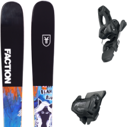 FACTION PRODIGY 1.0 X 19 + TYROLIA ATTACK² 11 GW W/O BRAKE [L] SOLID BLACK 20