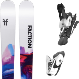 FACTION PRODIGY 1.0 X 20 + SALOMON Z12 B100 WHITE/BLACK 21
