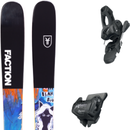 FACTION PRODIGY 1.0 X 19 + TYROLIA ATTACK² 11 GW BRAKE 90 [L] SOLID BLACK 20