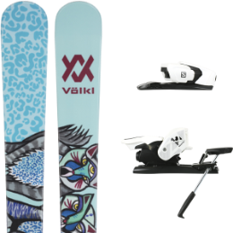 VOLKL BASH 86 W 21 + SALOMON Z12 B90 WHITE/BLACK 21